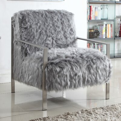 Connolly Armchair Upholstery: Gray