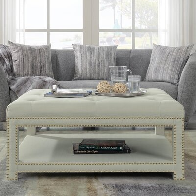 Clarion Coffee Table Color: Beige