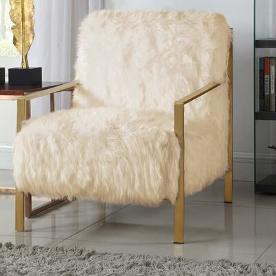 Connolly Armchair Upholstery: Beige