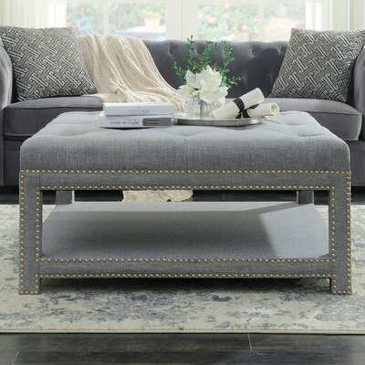 Clarion Coffee Table Finish: Gray