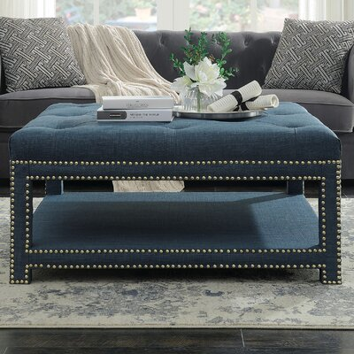 Clarion Coffee Table Color: Blue