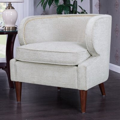 Landisville Barrel Chair Upholstery: Beige