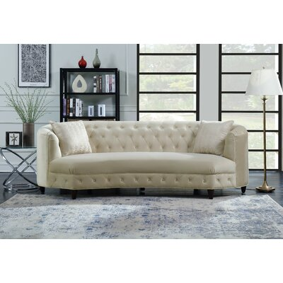 Blasingame Sofa Upholstery: Champagne