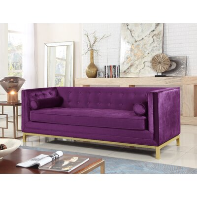Pratik Sofa Upholstery: Purple