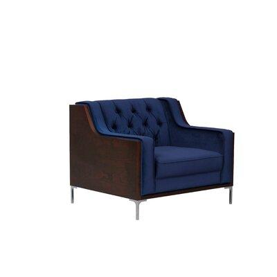 Daum Club Chair Upholstery: Gray