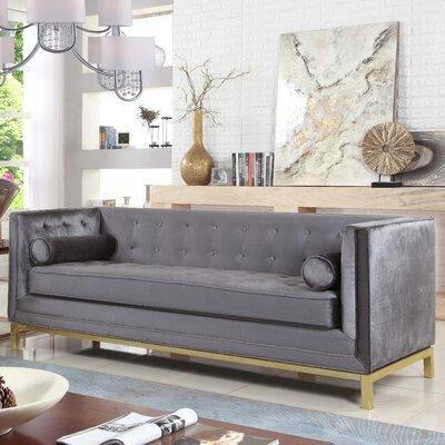 Pratik Sofa Upholstery: Gray