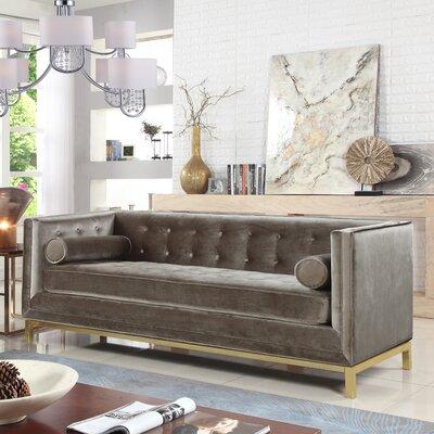 Pratik Sofa Upholstery: Taupe