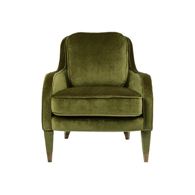 Treveon Armchair Upholstery : Green