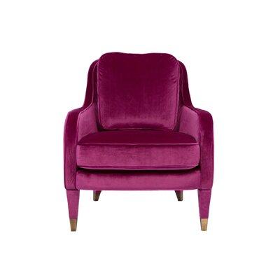Treveon Armchair Upholstery : Plum
