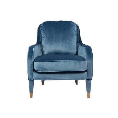 Treveon Armchair Upholstery : Blue