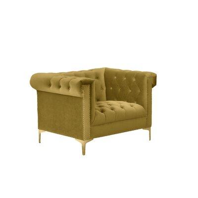 Bea Armchair Upholstery: Golden Mustard