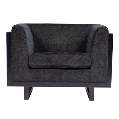 Kraus Armchair Upholstery: Black