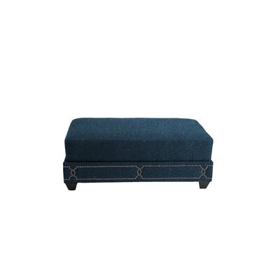 Gianni Cocktail Ottoman Upholstery: Teal/Blue