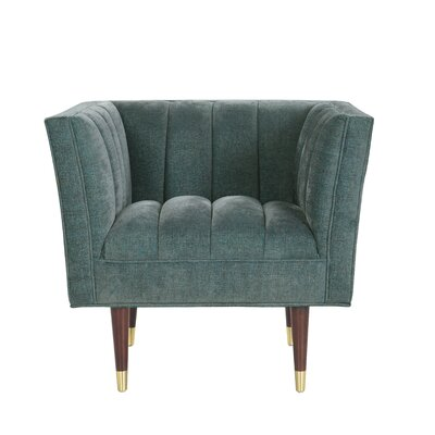 Brooke Accent Arm Chair Upholstery: Teal