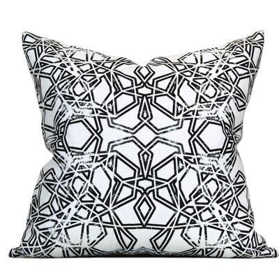 Bucharest Linen Throw Pillow