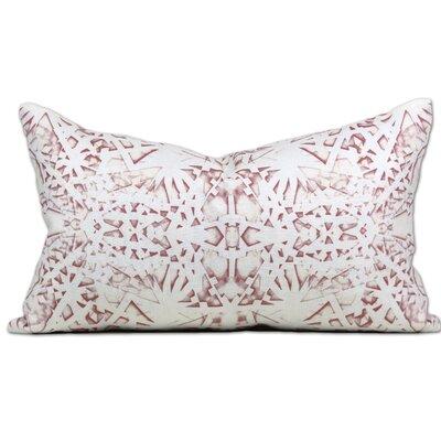 Tartu Linen Lumbar Pillow Color: Blush