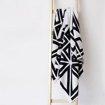 Milas Throw Blanket Color: Black