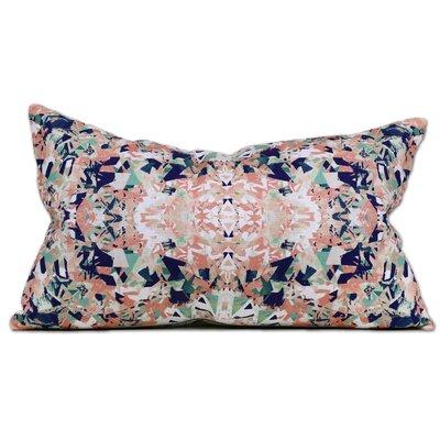 Vienna Linen Lumbar Pillow Color: Nectar