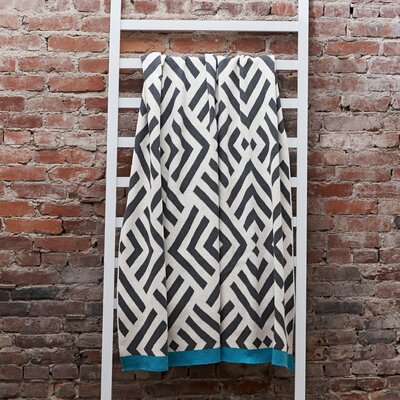 Zadar Throw Blanket Color: Pewter