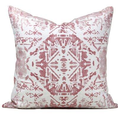 Ostrava Linen Throw Pillow Color: Blush
