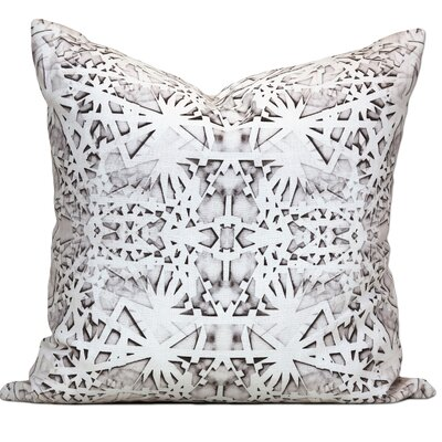 Tartu Linen Throw Pillow Color: Smoke