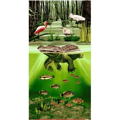 Swamp Alligator Everglades Beach Towel