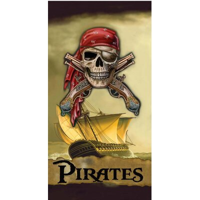 Buccaneer Pirates of the Caribbean Bath Towel