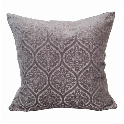 Chenille Jacquard Throw Pillow Color: Lilac