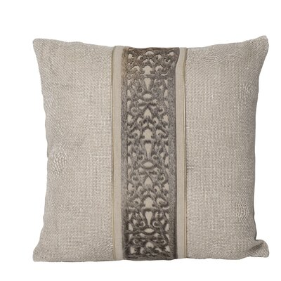 Laser-Cut Throw Pillow