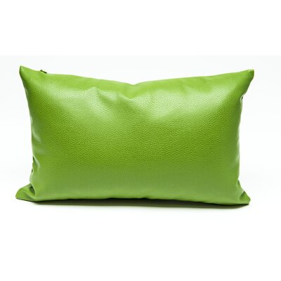 Tahlil Lumbar Pillow Color: Green