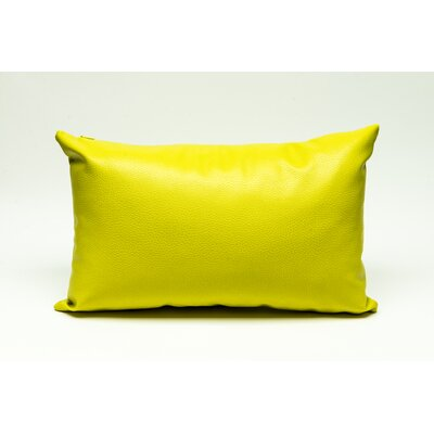 Tahlil Lumbar Pillow Color: Yellow
