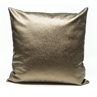 Tahlil Throw Pillow Color: Brown