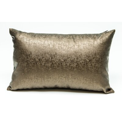 Tahlil Lumbar Pillow Color: Brown