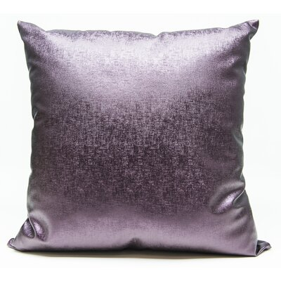 Tahlil Throw Pillow Color: Purple