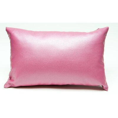 Tahlil Lumbar Pillow Color: Pink