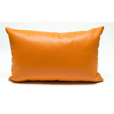 Tahlil Lumbar Pillow Color: Orange
