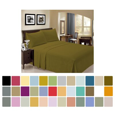 Bamboo Cripe Rayon Egyptian-Quality Cotton 6 Piece Sheet Set