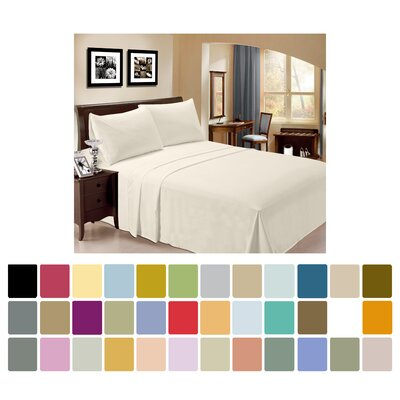 Criner Rayon from Bamboo 4 Piece Sheet Set