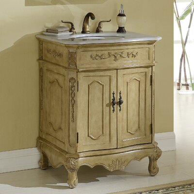 Mangold 27 Single Bathroom Vanity Base Finish: Tan