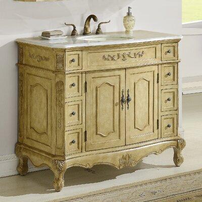 Mangold 42 Single Bathroom Vanity Base Finish: Tan