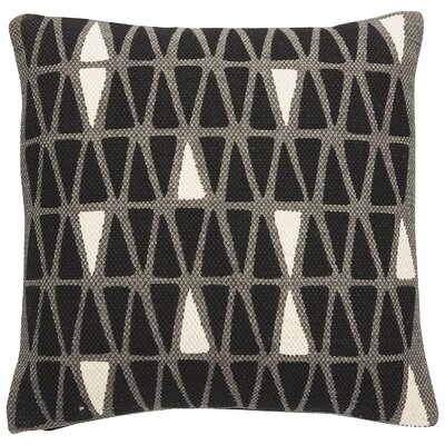 National Geographic Cotton Throw Pillow Color: Steel Gray/Caviar