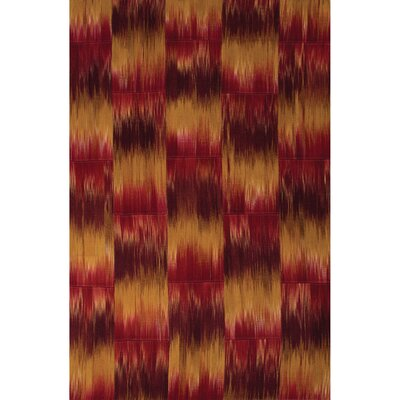 National Geographic Home Premium Wool Flat Weave Chili Powder Area Rug Rug Size: 2 x 3