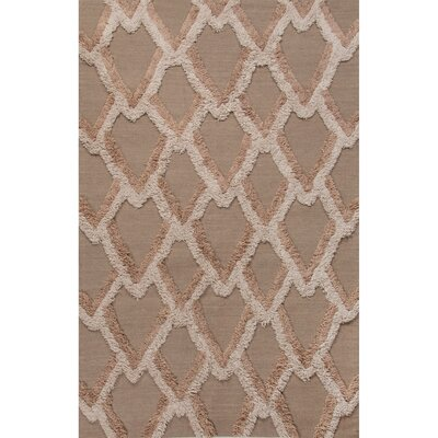 National Geographic Home Premium Wool Flat Weave Neutral/Tan Area Rug Rug Size: 2 x 3