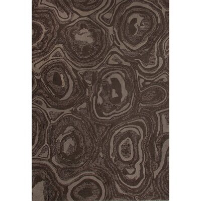National Geographic Home Premium Wool Hand Tufted Brown Area Rug Rug Size: 2 x 3