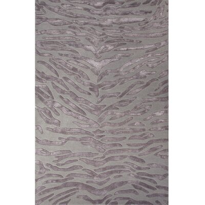 National Geographic Home Collection Tufted Wool and Viscose Gray Hand Tufted Area Rug Rug Size: 2 x 3