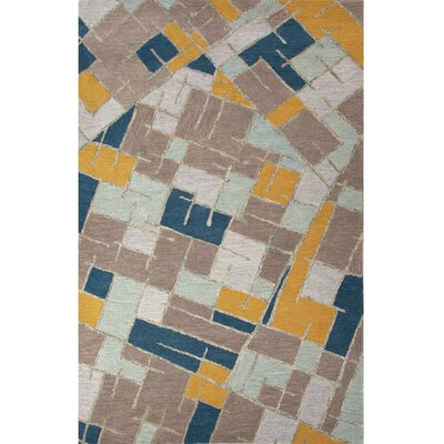 National Geographic Home Wool Hand Tufted Blue Area Rug Rug Size: 2 x 3