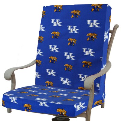 NCAA Kentucky Outdoor Adirondack Chair Cushion