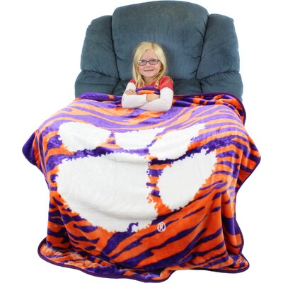 Clemson Tigers Throw Blanket