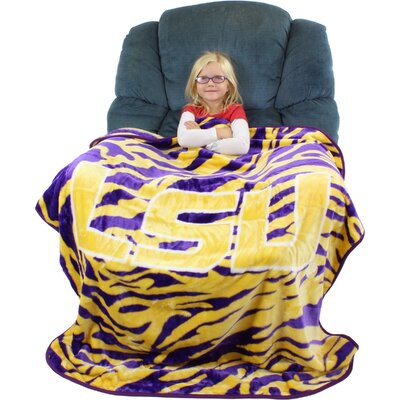 Louisiana State University Tigers Throw Blanket