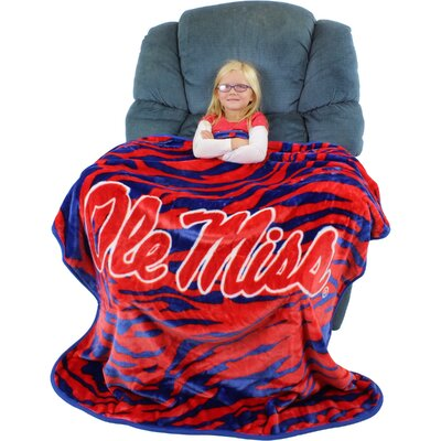 Mississippi Rebels Throw Blanket